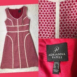 Fuschia Adrianna Papell Dress EUC
